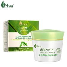 AVA Laboratorium Eco Garden krem do twarzy groszek 50ml