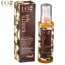 ECO Laboratorie KARITE SPA olej do włosów 100ml