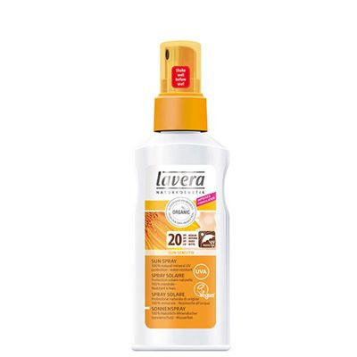Lavera SUN SENSITIVE spray do opalania SPF 20 125ml
